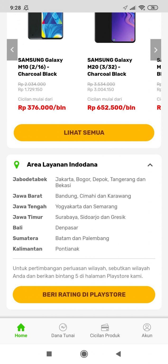 Area Layanan Indodana Pinjaman Online 2021 - Majas.id