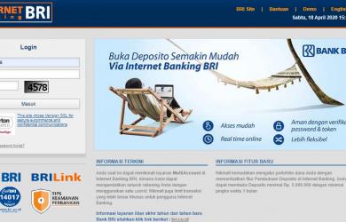 cara daftar internet banking bri