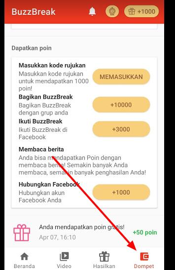 daftar buzzbreak aplikasi berita