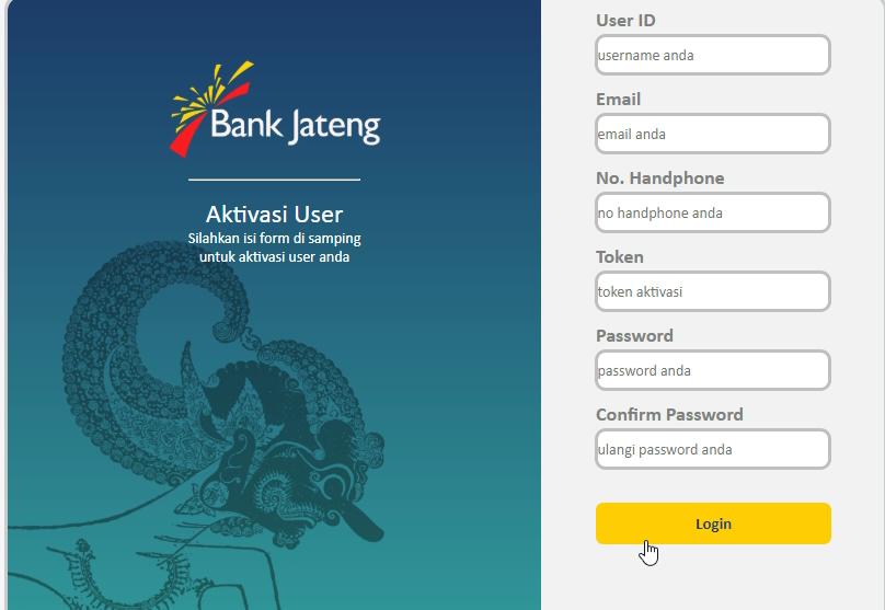 daftar internet banking bpd jateng