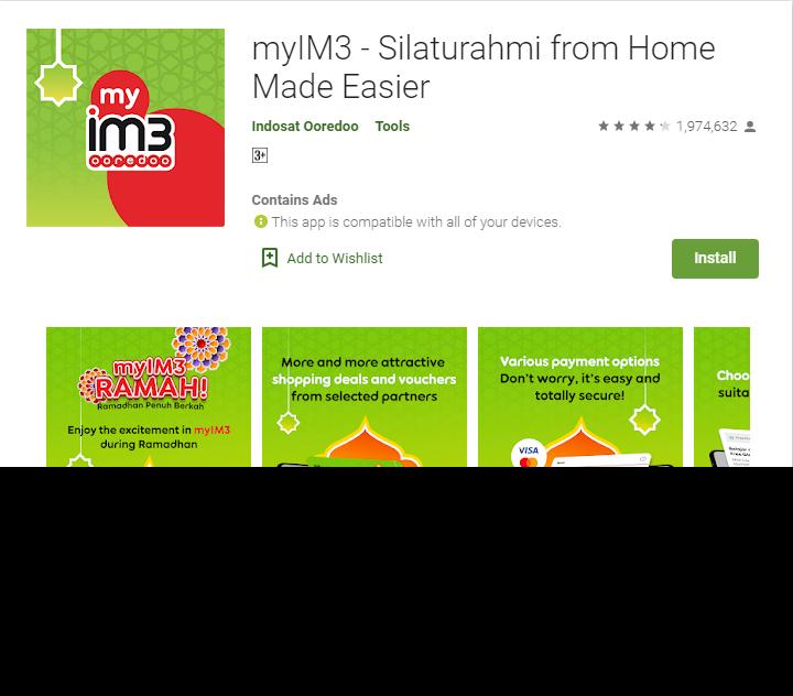 kode referral myim3 indosat ooredo 2020