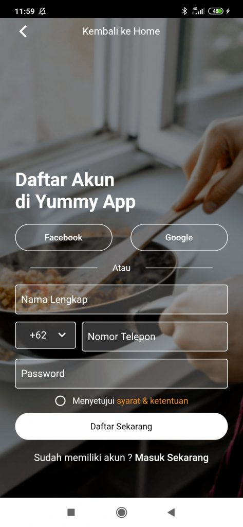 kode referral yummy app
